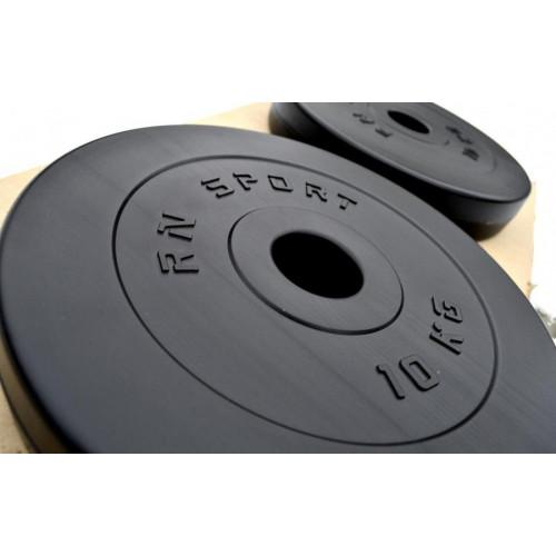 Штанга композитная 100 кг с олимпийским грифом + ABS покрытием - Фото 6