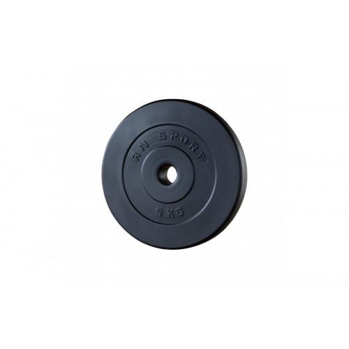 Гантель разборная 26 кг с пластиковым покрытием - Фото 4