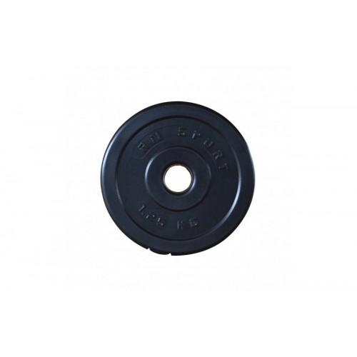 Гантель разборная 23 кг с пластиковым покрытием - Фото 2