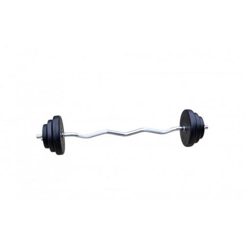 Силовой набор: 4 грифа   150 кг дисков (ABS покрытие) - Фото 2