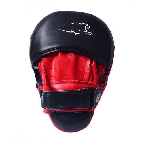 Лапы боксерские PowerPlay Black-Red - Фото 4