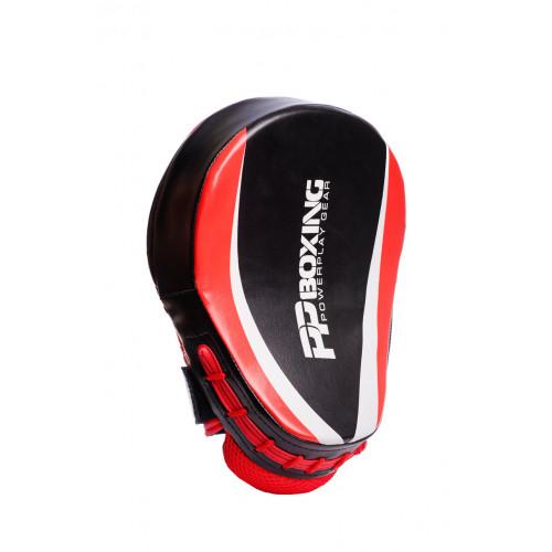 Лапы боксерские PowerPlay Boxing Black-Red - Фото 2