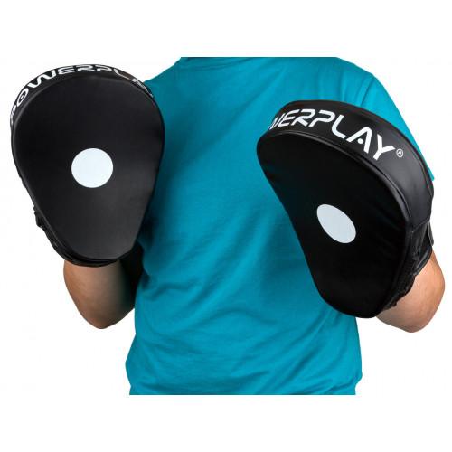 Лапы боксерские PowerPlay Black - Фото 5