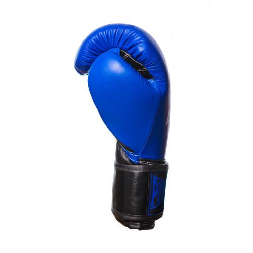 Перчатки для бокса PowerPlay Classic Blue - Фото 5