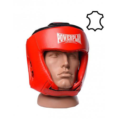 Шлем боксерский PowerPlay Tournament Red - Фото