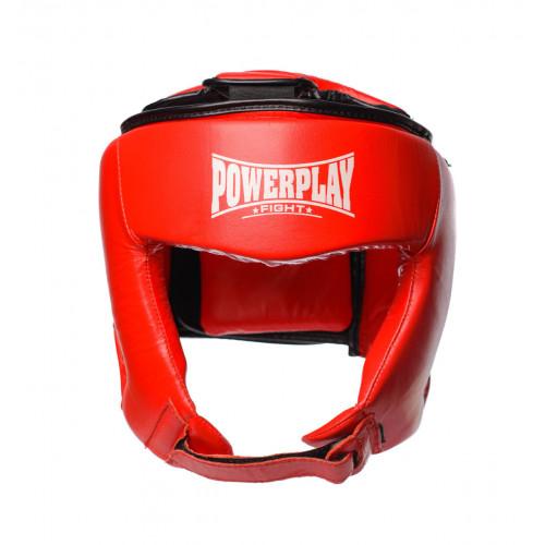 Шлем боксерский PowerPlay Tournament Red - Фото 2