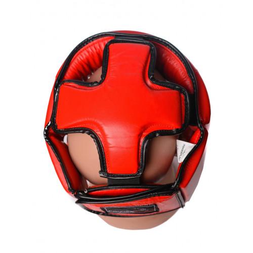 Шлем боксерский PowerPlay Tournament Red - Фото 5