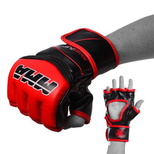 Перчатки для ММА PowerPlay Red-Black  - Фото
