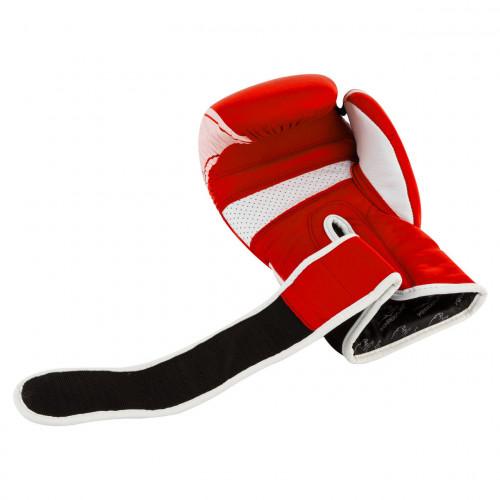 Перчатки для бокса PowerPlay Pro Fight Red - Фото 3