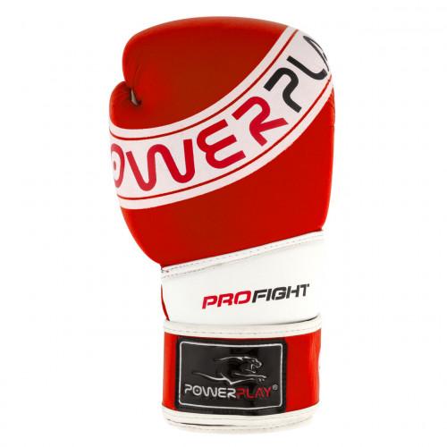 Перчатки для бокса PowerPlay Pro Fight Red - Фото 6