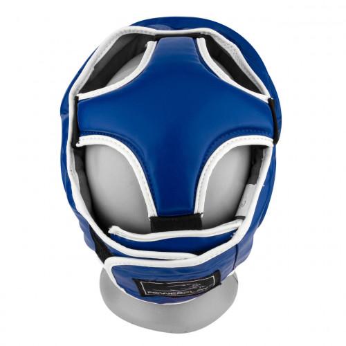 Шлем боксерский тренировочный PowerPlay Blue Amara - Фото 6