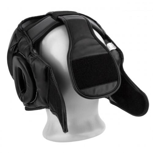 Шлем боксерский тренировочный PowerPlay Black - Фото 4