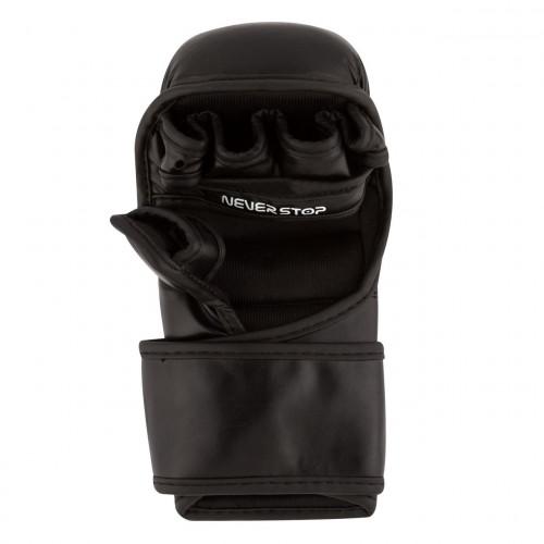 Перчатки для единоборств PowerPlay Black - Фото 6