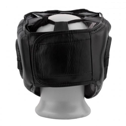 Шлем боксерский тренировочный PowerPlay Bamper Black - Фото 4