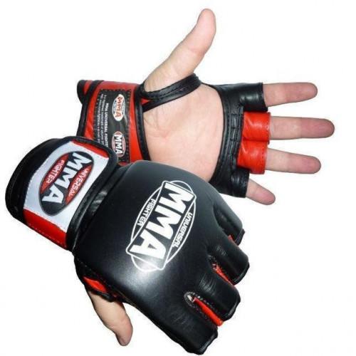Перчатки для ММА PowerSystem Katame Red - Фото