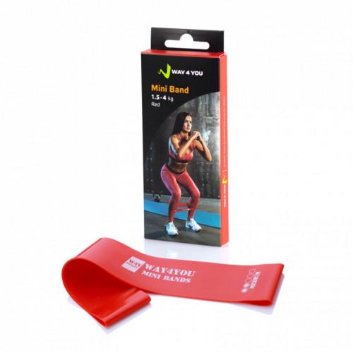 Эспандер для ног Mini Bands Красный - Фото