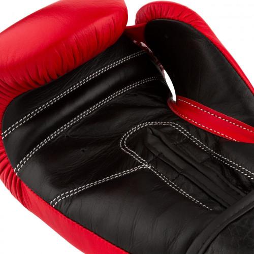 Перчатки для бокса PowerPlay Classic Red - Фото 7