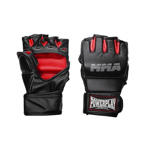 Перчатки для ММА PowerPlay Black - Фото 6