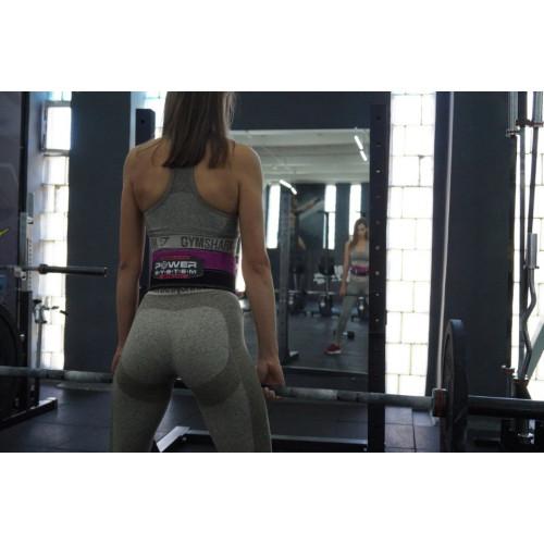 Пояс атлетический Power System для пауэрлифтинга (женский) - Фото 7