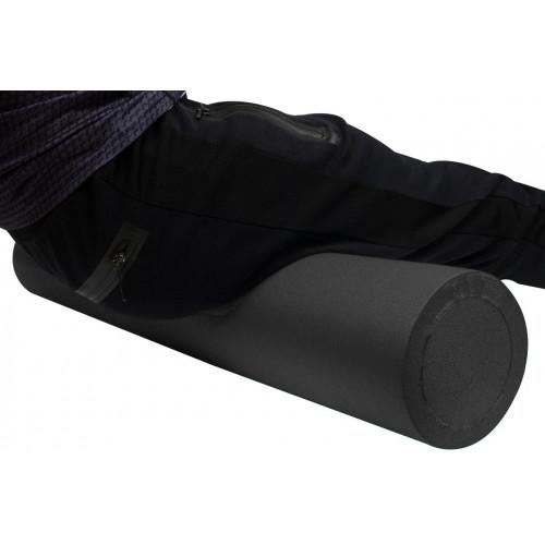 Ролик для йоги массажный черный (90*15 см) - Фото 4