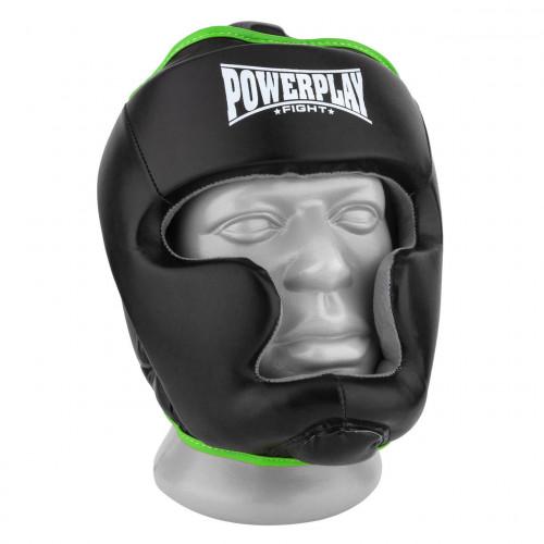 Шлем боксерский тренировочный PowerPlay Black Amara - Фото