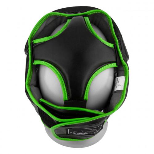 Шлем боксерский тренировочный PowerPlay Black Amara - Фото 5