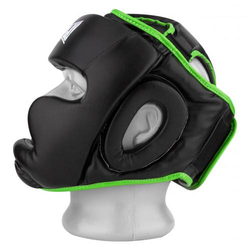 Шлем боксерский тренировочный PowerPlay Black Amara - Фото 3