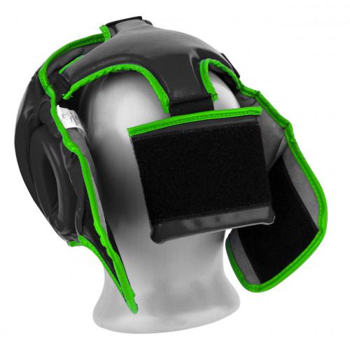 Шлем боксерский тренировочный PowerPlay Black Amara - Фото 6