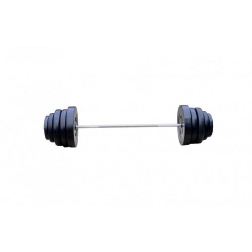 Силовой набор: 4 грифа + 100 кг дисков (ABS покрытие) - Фото 3